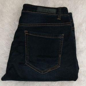 Liverpool Jeans Co Dark Wash Sadie Straight sz 12